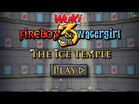 Fireboy and Watergirl in The Ice Temple Walkthrough - YouTube