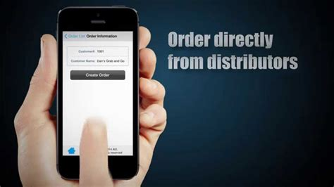 Mobile Sales App | Order Entry for iPhone & Android