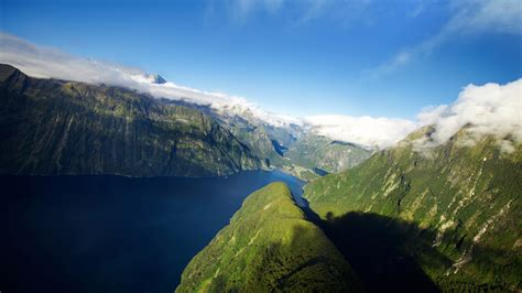 Fjord in New Zealand Wallpapers | HD Wallpapers | ID #12324