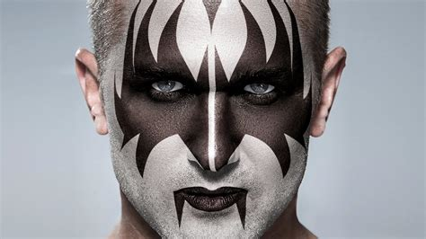 Photoshop: KISS! Apply Gene Simmons' Makeup to a Photo