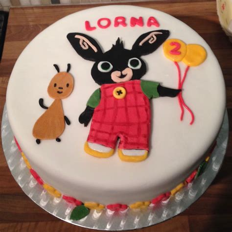 Bing and flop birthday cake | Torte di compleanno