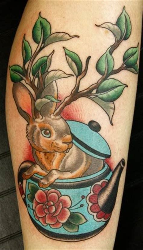 Put a Spring in Your Step with Rabbit Tattoos « Tattoo