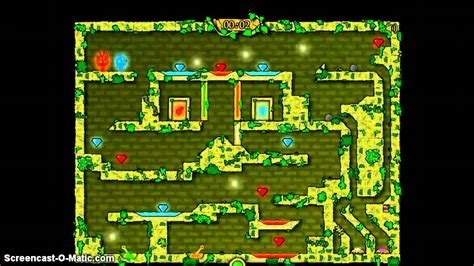 CoolMath Games: FireBoy & WaterGirl in the Forest Temple w