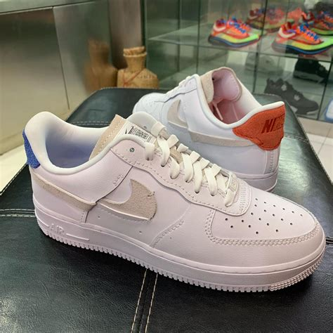"""Official Looks at the Nike Air Force 1 """"Vandalized"""" in"""