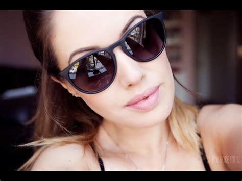 Ray Ban Review, Erika Violet Model   Review Sunglasses