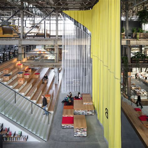 Converted warehouse becomes LocHal public library in the