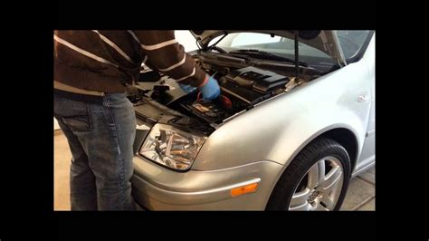 How to remove / replace battery on a MK4 VW Jetta GOLF GTi