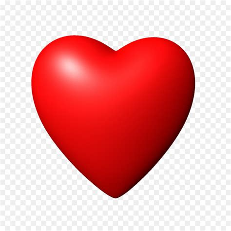 Heart Icon - 3D Red Heart PNG Image 1200*1200 transprent