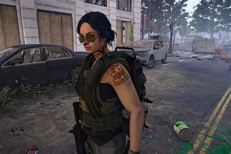The Division 2's character creators is full of odd